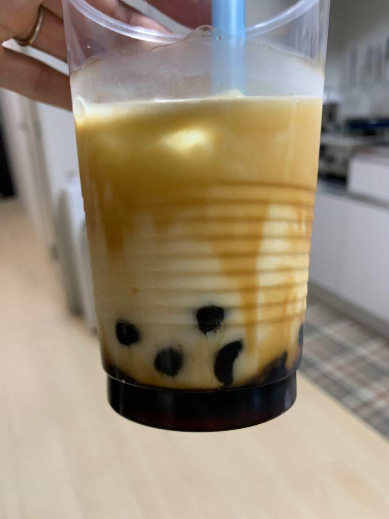家で黒糖タイガーミルクを作ってみた