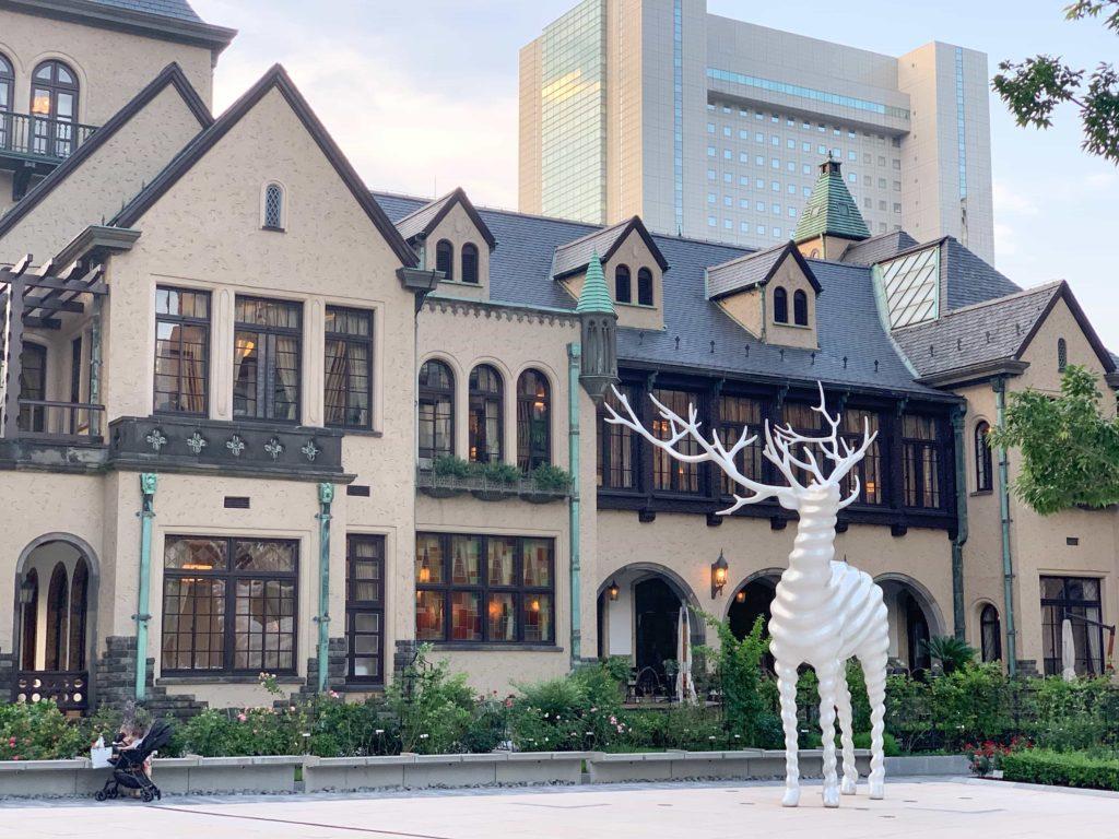 赤坂プリンスクラシックハウスの外観