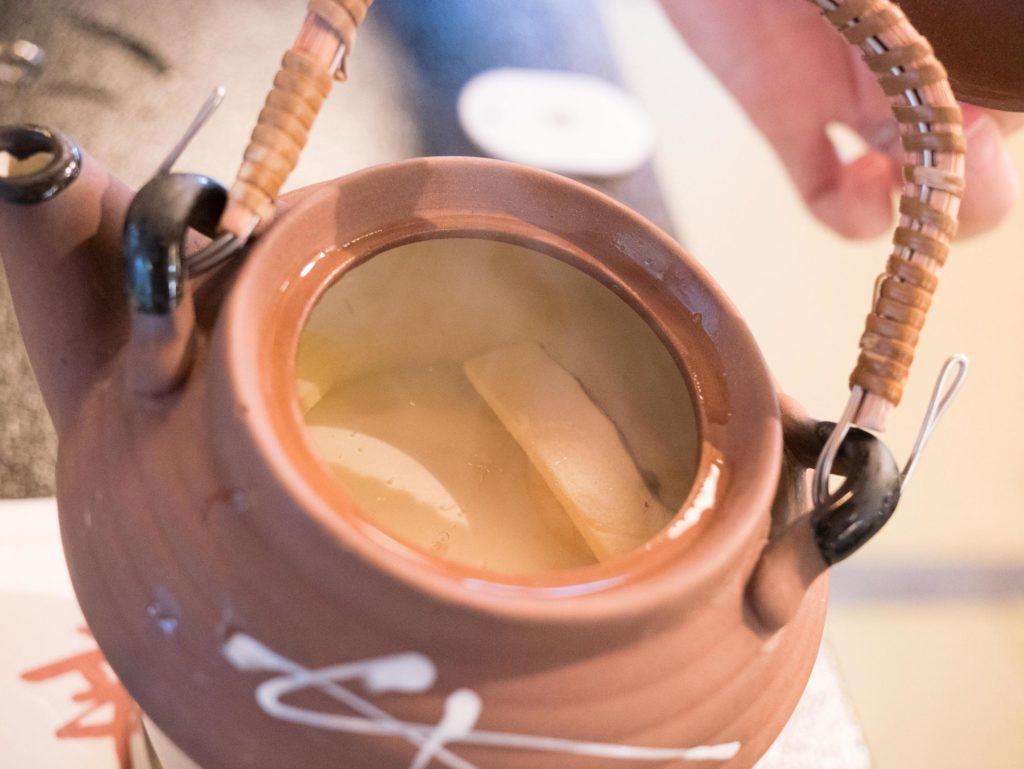二幸園の松茸土瓶蒸し