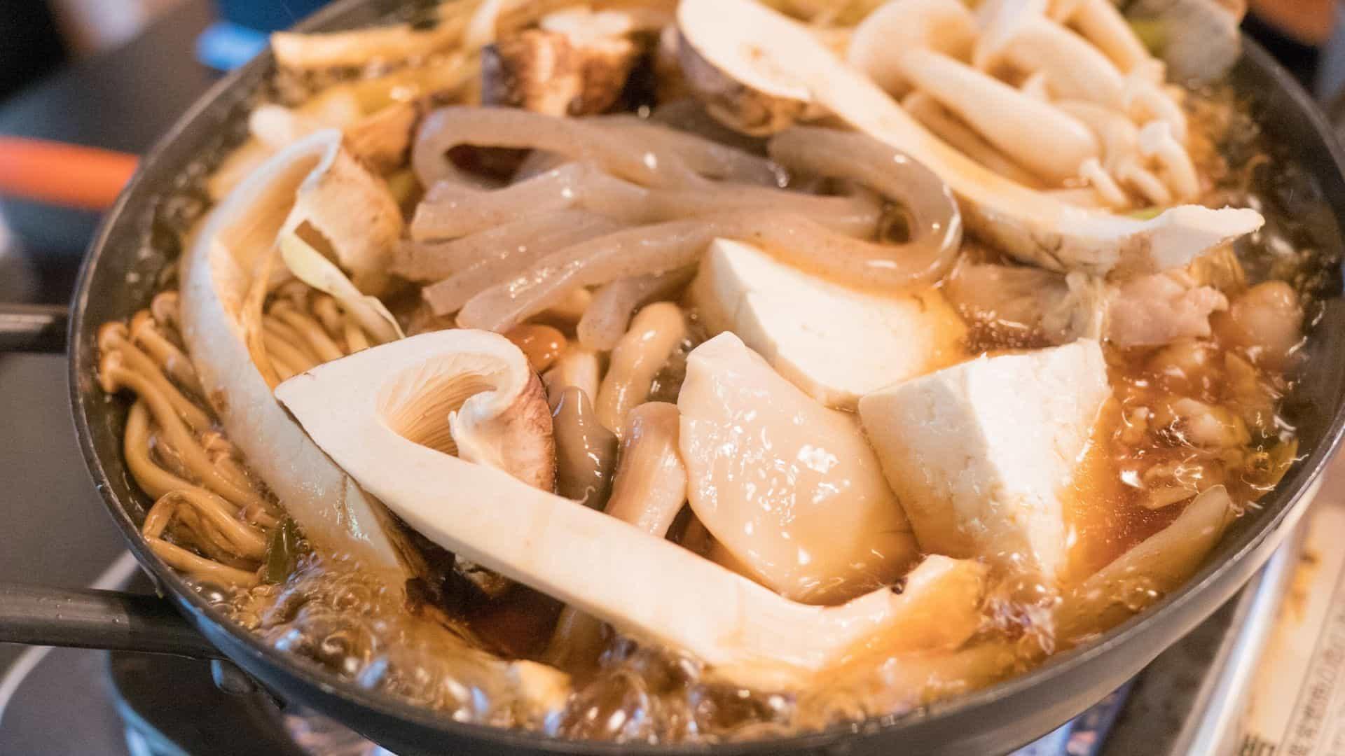 松茸小屋で食べた松茸鍋