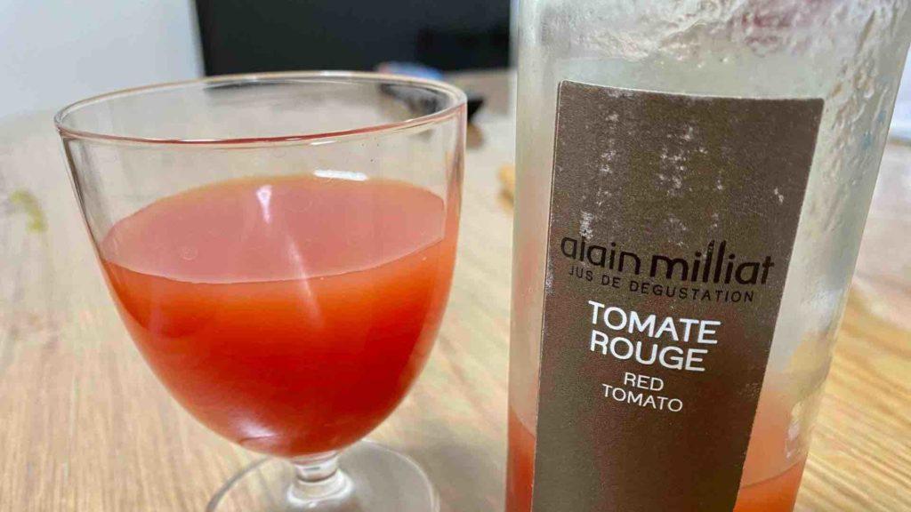 アラン・ミリアのトマトジュース