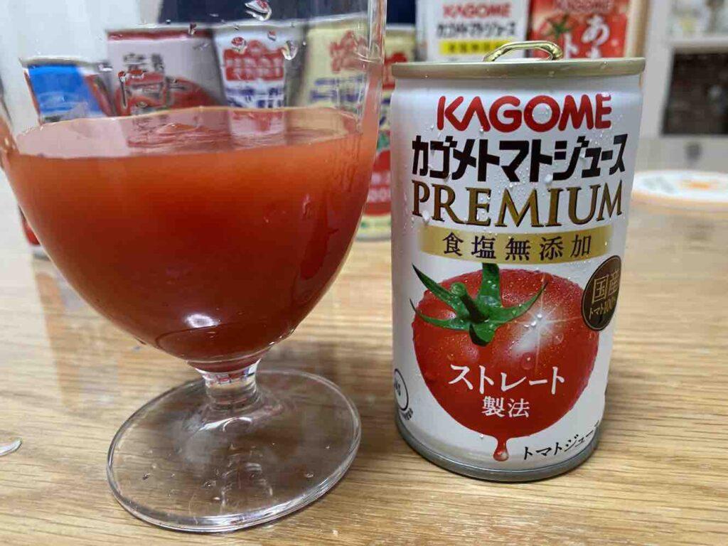 カゴメのストレートトマトジュース