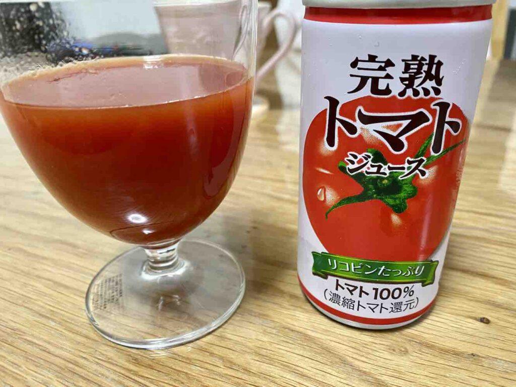 神戸居留地のトマトジュース