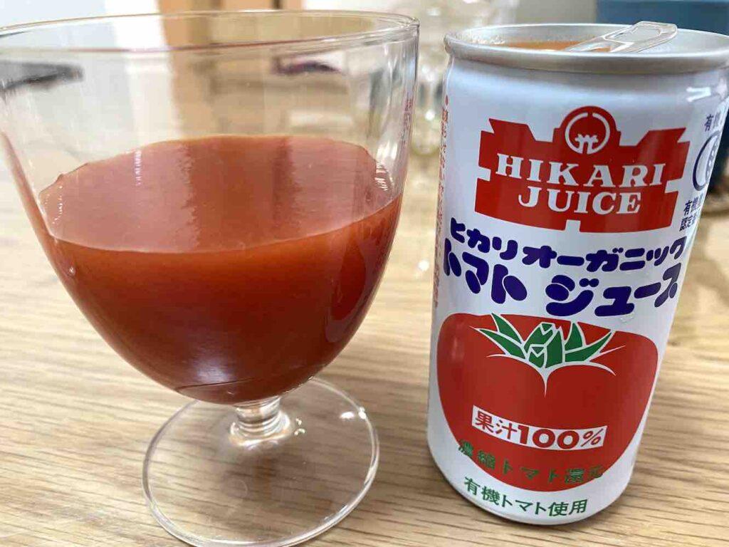 ヒカリオーガニックのトマトジュース