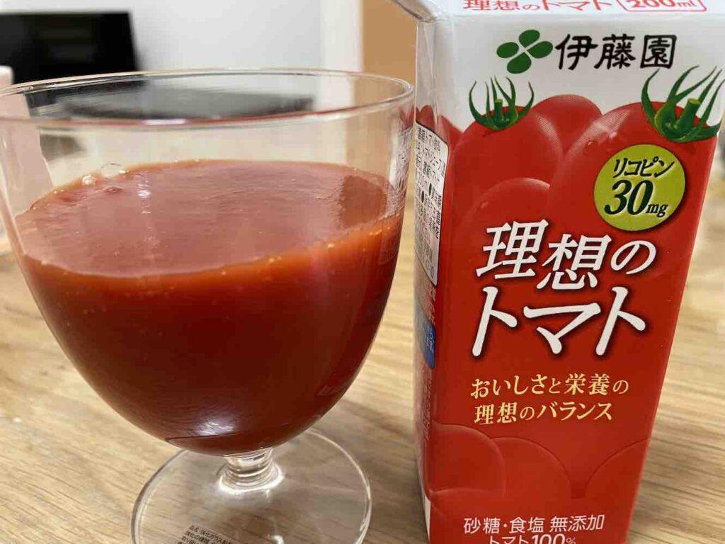 伊藤園の理想のトマトのレビュー