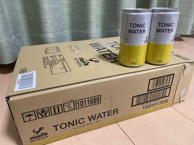 神戸居留地のトニックウォーターを箱買いした